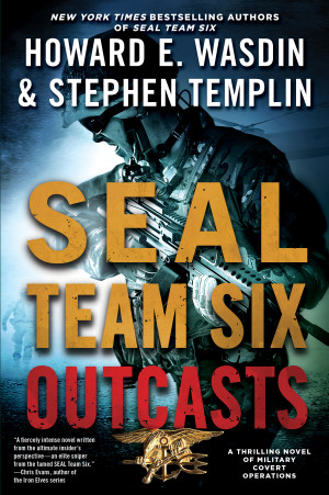 Book Cover Image (jpg): SEAL Team Six Outcasts