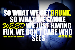 Wiz Khalifa Young Wild And Free Quotes