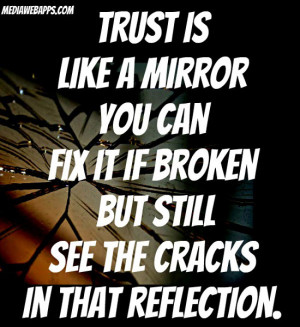 broken friendship trust quotes