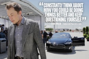 Elon Musk Entrepreneur Picture Quote For Success