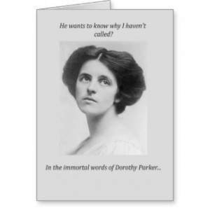 Dorothy Parker Gifts - Shirts, Posters, Art, & more Gift Ideas