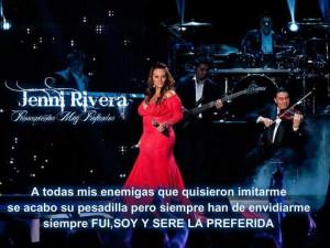 Jenni Rivera haters quote