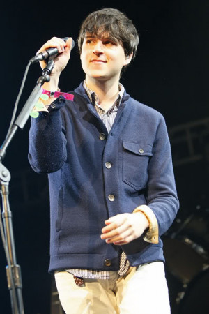 as is Vampire Weekend's Ezra Koenig :