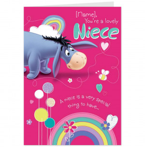 Forever Friends Lovely Niece Birthday Card Kootation JoBSPapacom