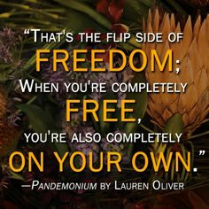 Quotes from the DELIRIUM series by Lauren Oliver - via EpicReads More