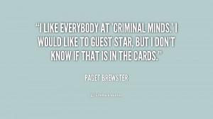 Criminal Minds Show Quotes