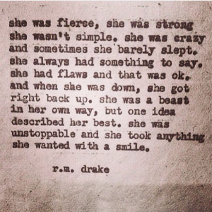 ... Rm Drake Quotes, Beast Quotes, R.M Drake Quotes, Things, Smile, R.M