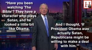 David Letterman joke
