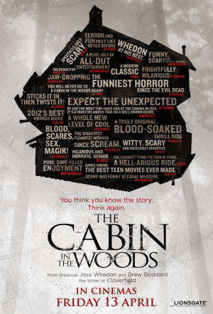 The Cabin in the Woods Quote Poster