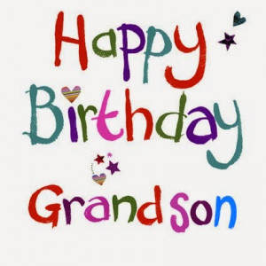 Grandson Birthday SMS