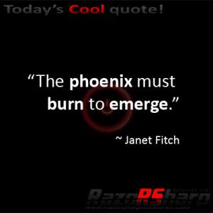 phoenix rebirth quotes