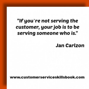 Internal Customer Service Quotes