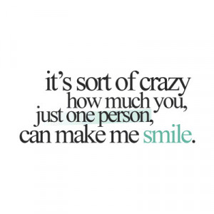 forums: [url=http://www.quotes99.com/just-one-person-can-make-me-smile ...