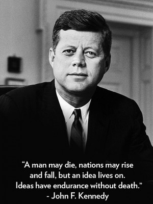 Photo Special John F. Kennedy's Legacy in Quotes