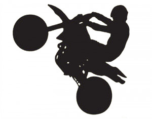 ... Sticker Decal Quote Vinyl Motorcycle Racing Boys Room Wall Decal Decor