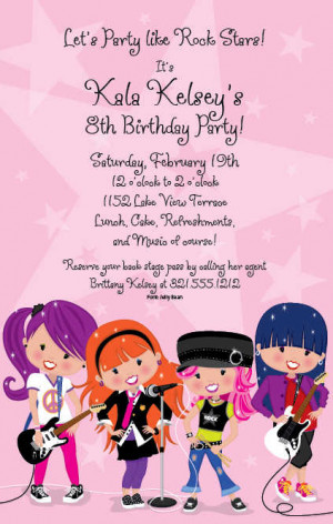 Check out some of our most popular birthday invitations for girls and ...