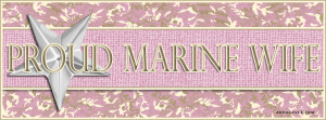 Proud Marine Wife Facebook Cover