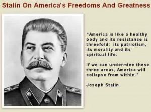 Joseph Stalin quote: History, Politics, Blessed America, Quotes, Ruins ...