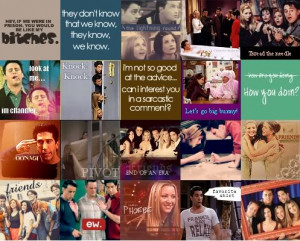 Friends TV Icon Myspace Layout