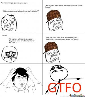 hate stupid people...