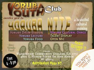 Activities Such Yoruba Drum