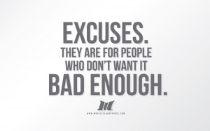 Nike No Excuses Quotes