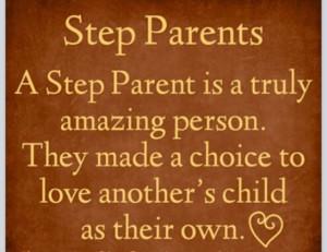 Wonderful step Father To My