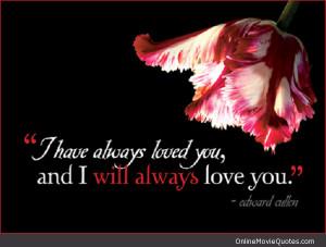 Edward Cullen Twilight Quote