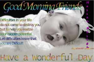 Inspiring Quotes: Good Morning Friday.. Inspiring Quotes for the day