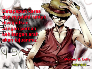 Anime Quotes: Monkey D. Luffy [ONEPIECE]