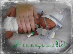 Premature Babies In Hands Clean hands had never been