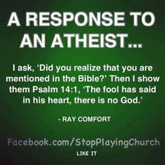 wow, powerful...quote by Ray Comfort More