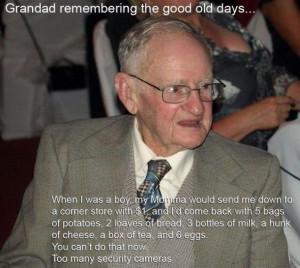 Oh grandpa...