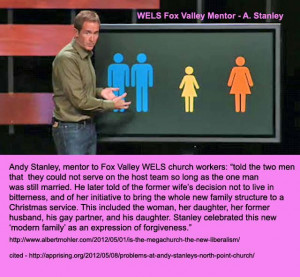 HOMOSEXUALITY, MEGACHURCHES, AND ANDY STANLEY