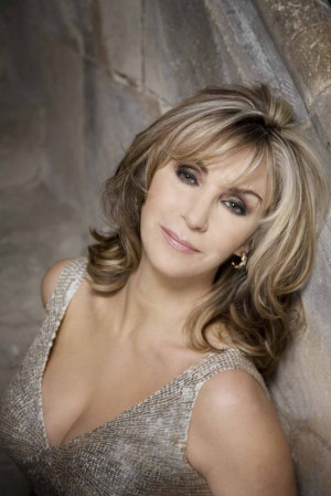 ... guest for the evening was the UK's favourite soprano, Lesley Garrett