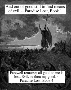 Does Satan in John Milton's epic poem Paradise Lost deserve any sympathy?