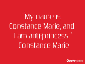 My name is Constance Marie and I am anti princess Wallpaper 3