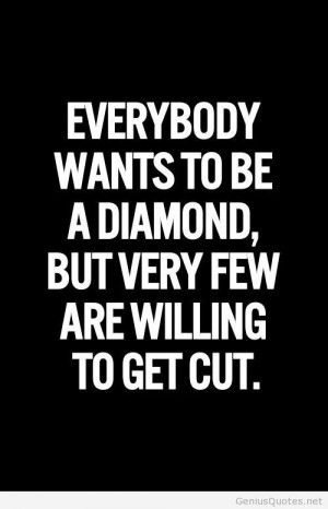 Inspirational picture quotes diamond