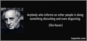 Disturbing Quotes About People