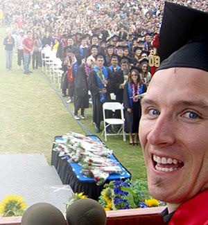 Trevor Mickelson, Outstanding Student, 2009