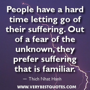 Letting go quotes – People have a hard time letting go of their ...