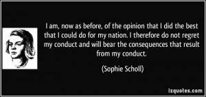 More Sophie Scholl Quotes