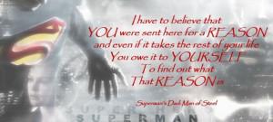 Superman quote!!