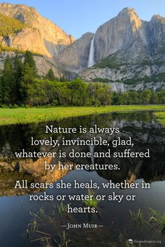 john muir quotes | John Muir Quote God created it FOR US and so often ...
