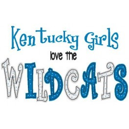 ... Designs > Exclusive State Girls > Kentucky Wildcats State Girls