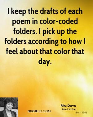 Rita Dove Quotes