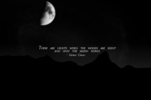 Full Moon…George Carlin quote