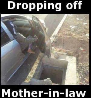 ... .comDropping off the mother in law - Funny Pictures, Funny jokes and