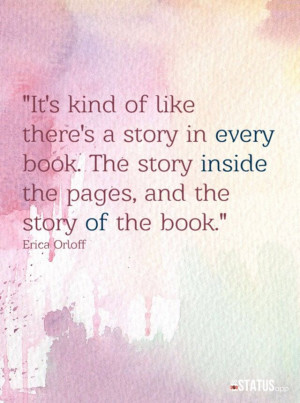 Beautiful book quote