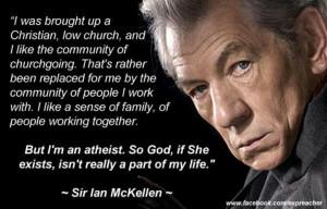 Ian McKellen!